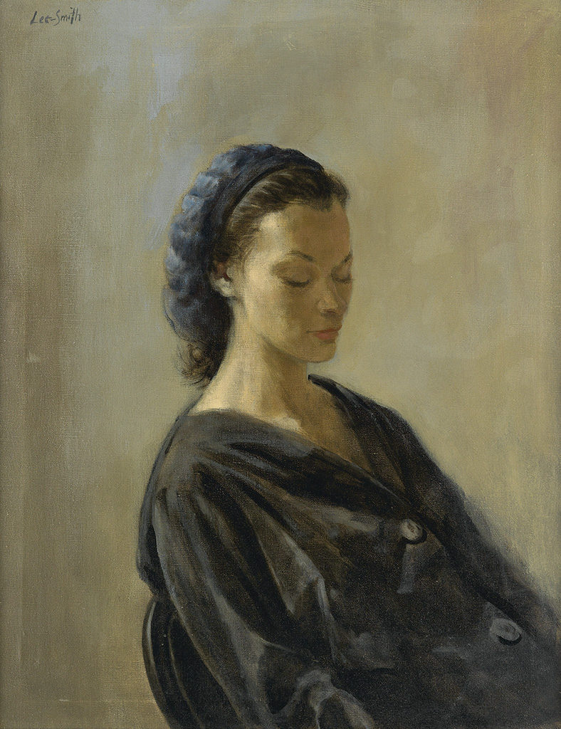HUGHIE LEE-SMITH (1915 - 1999) Untitled (Portrait of a Lady).