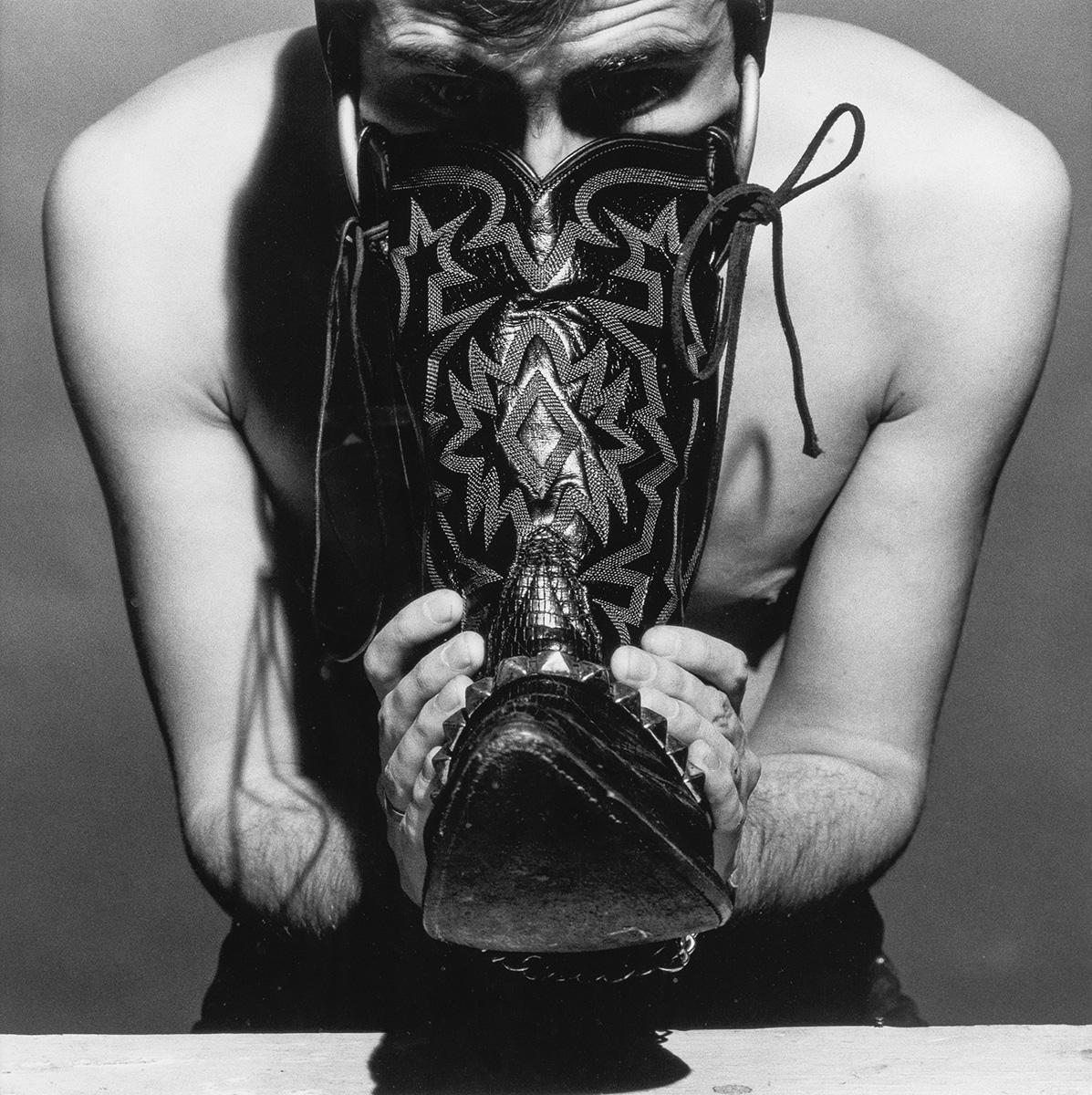 ROBERT-MAPPLETHORPE-(1946-1989)-Boot-Fetish