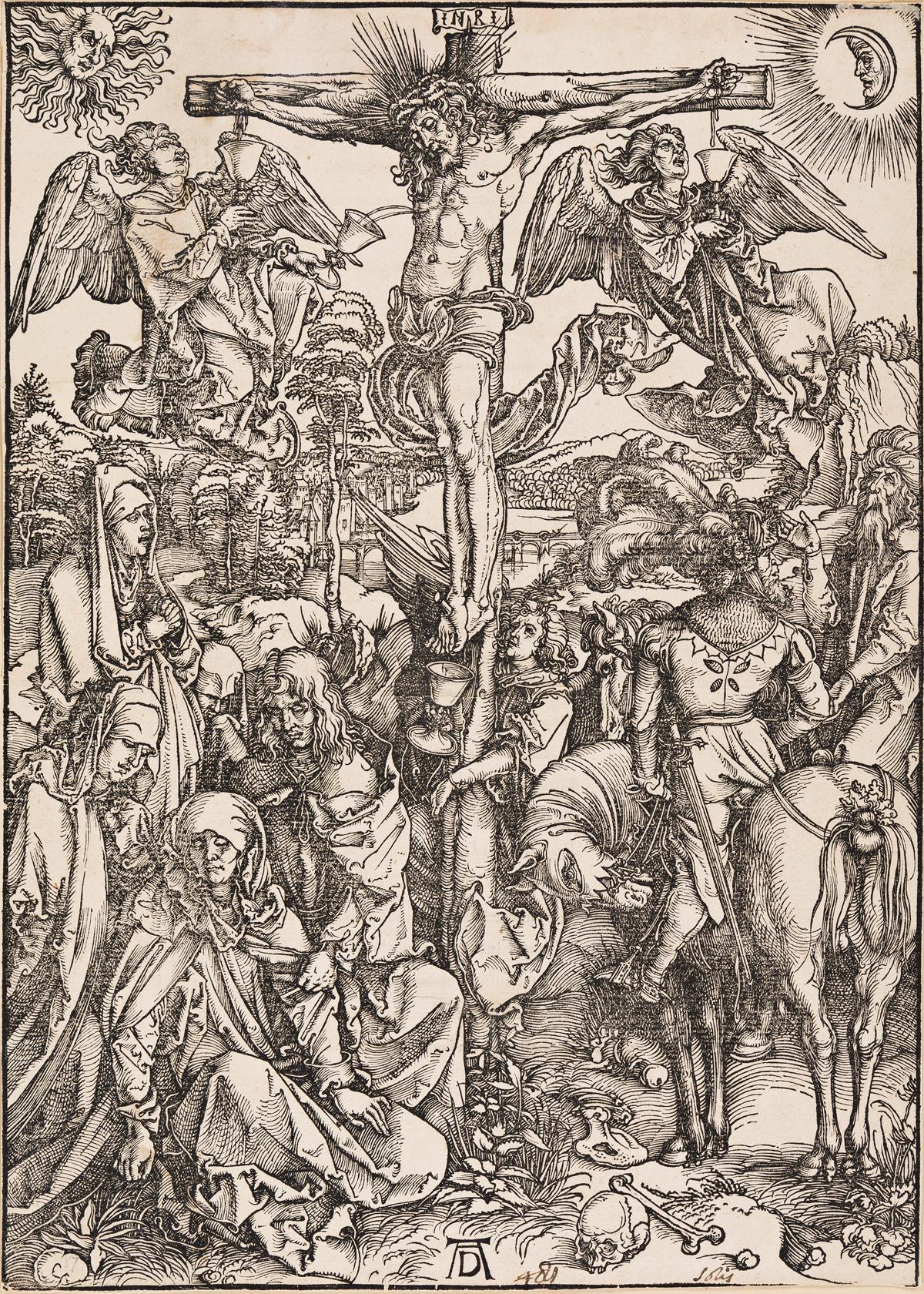 ALBRECHT DÜRER The Crucifixion.