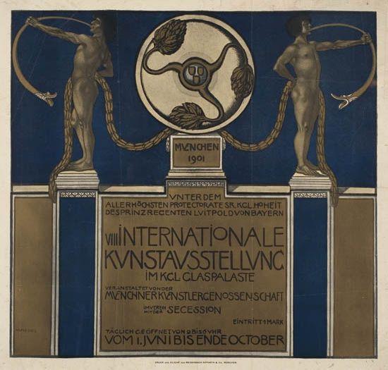 JULIUS-DIEZ-(1870-1957)-VIII-INTERNATIONALE-KUNSTAUSSTELLUNG