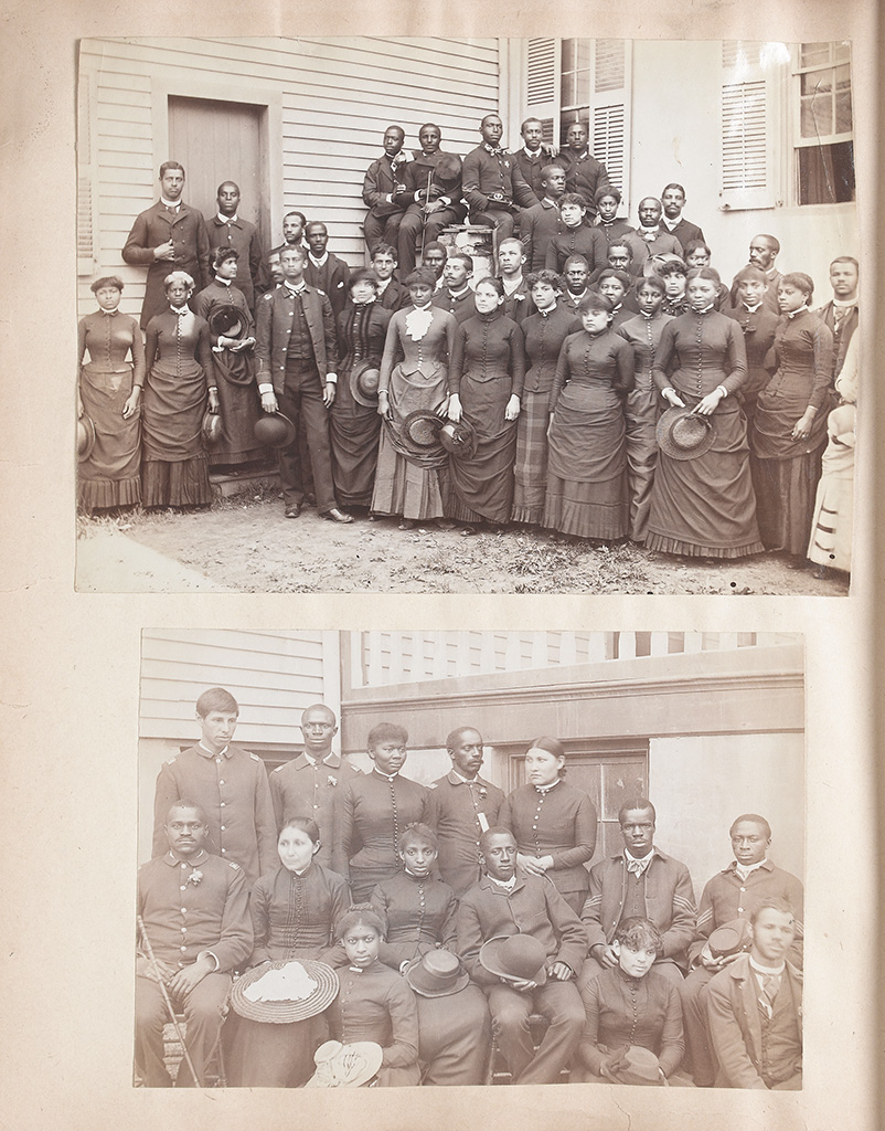 (EDUCATION.) HAMPTON INSTITUTE. Thirty-seven photographs of Hampton Institute, circa 1870s-1880s-[together with] nearly 200 other pho