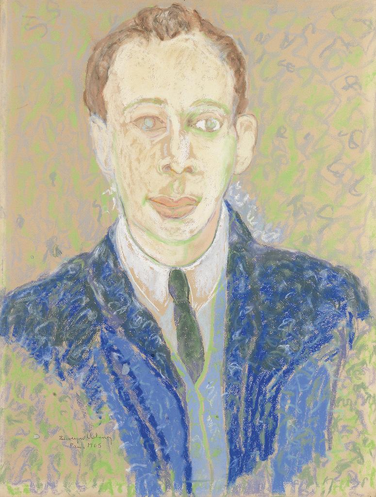 BEAUFORD DELANEY (1901 - 1979) Portrait of Richard A. Long.