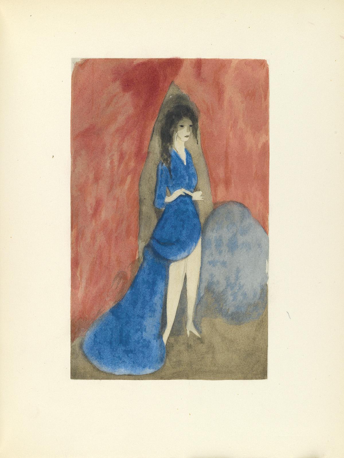 (LAURENCIN-MARIE--BALLET-RUSSES)-Cocteau-Jean;-et-al-Théatre