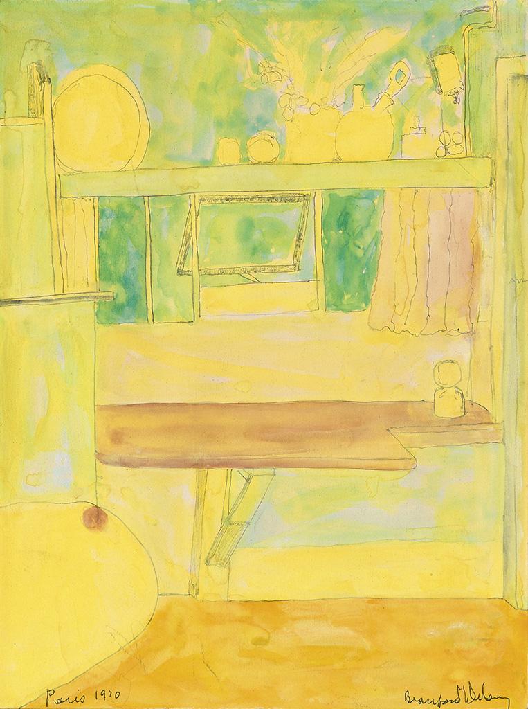 BEAUFORD DELANEY (1901 - 1979) Kitchen.