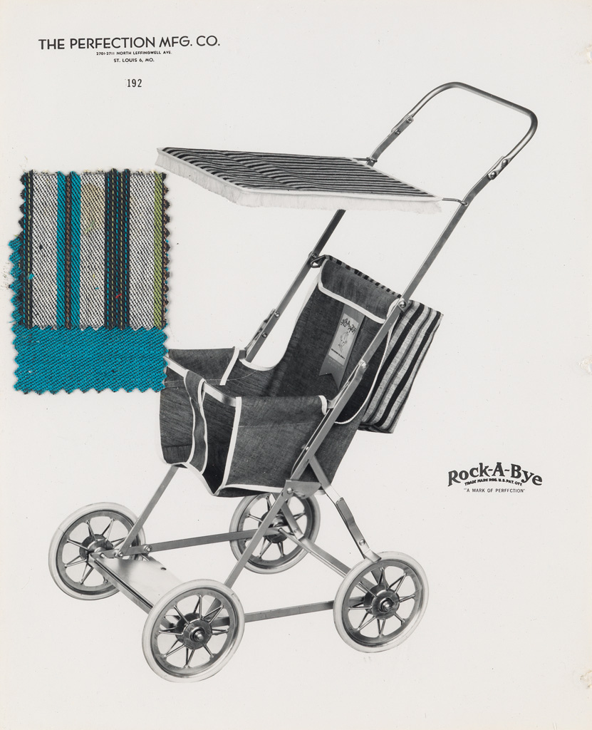 (SALESMANS-SAMPLE-ALBUM--BABY-CARRIAGES)-A-period-album-with