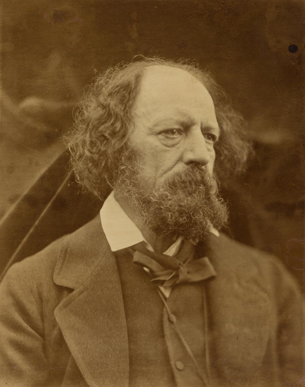 JULIA MARGARET CAMERON (1815-1879) Alfred, Lord Tennyson.