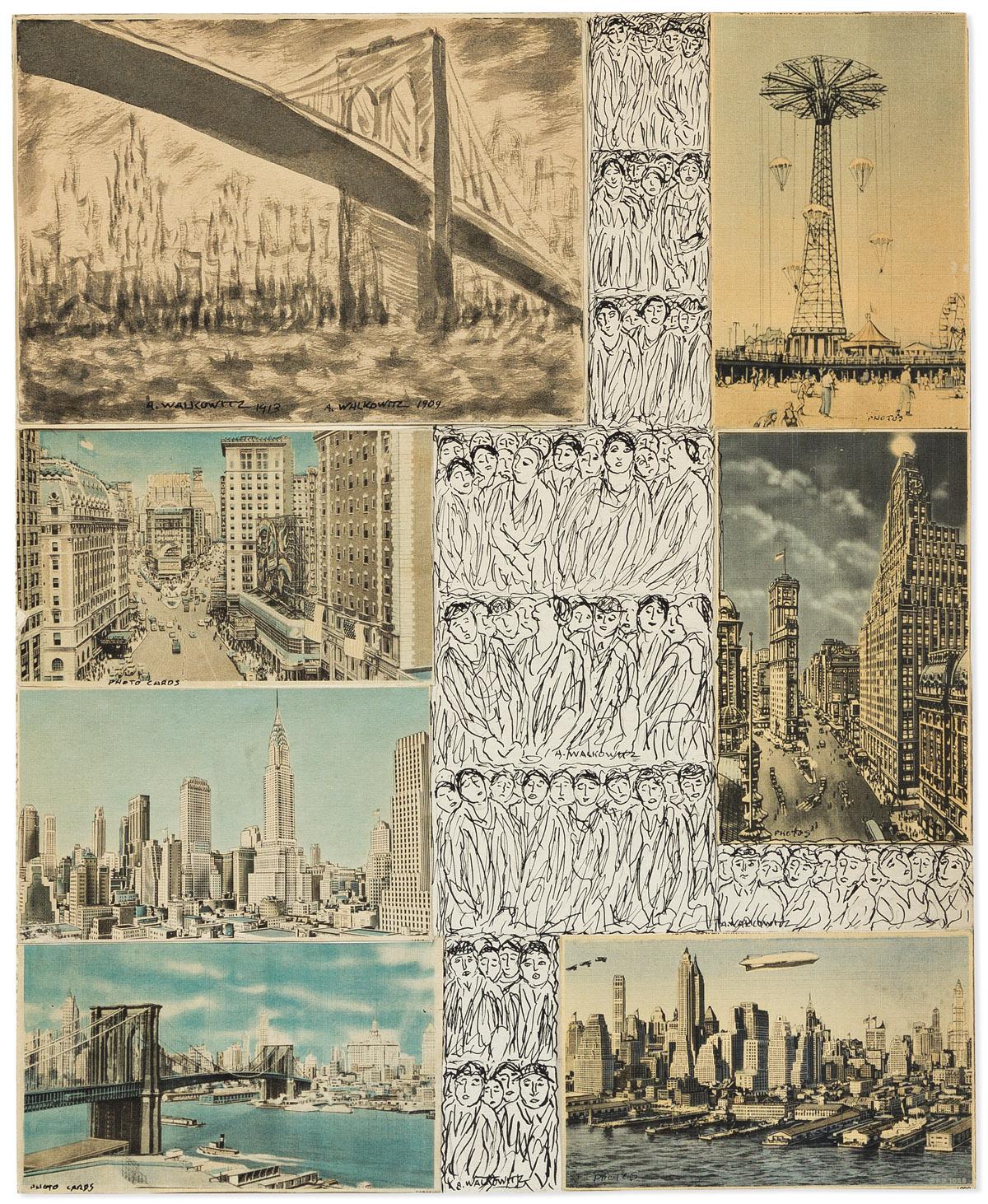 ABRAHAM WALKOWITZ (1878-1965) New York.