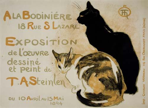 THÉOPHILE-ALEXANDRE-STEINLEN-(1859-1923)-A-LA-BODINIÉRE-1894