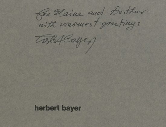 (BAYER-HERBERT)-Archive-of-material-about-the-making-of-the-