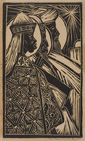 ALLAN-ROHAN-CRITE--(1910---)-The-Three-Kings