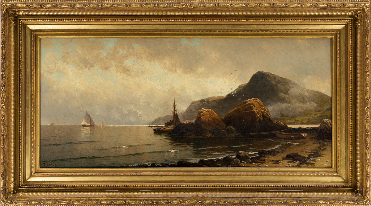 ALFRED-THOMPSON-BRICHER-Low-Tide-South-Head-Grand-Manan-Island