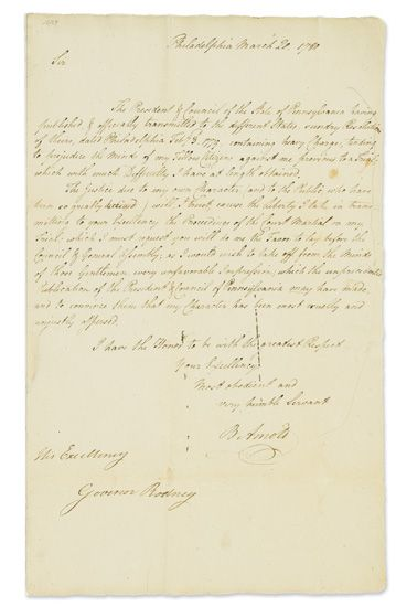 ARNOLD-BENEDICT-Letter-Signed-B-Arnold-as-Major-General-in-t