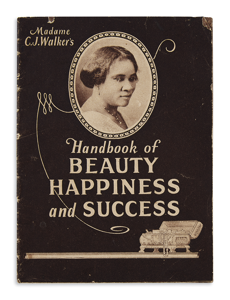 (BEAUTY.) Madame C.J. Walkers Handbook of Beauty, Happiness and Success