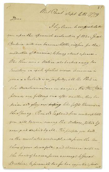 GREENE-NATHANAEL-Autograph-Letter-Signed-Nath-Greene-as-Majo