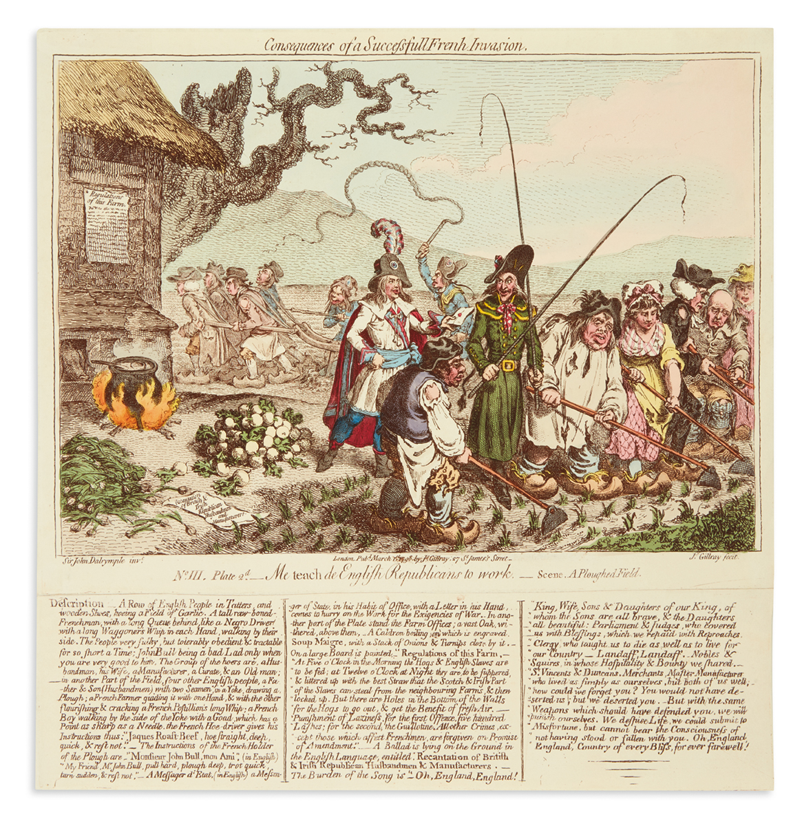 GILLRAY-JAMES-Consequences-of-a-Successfull-French-Invasion-