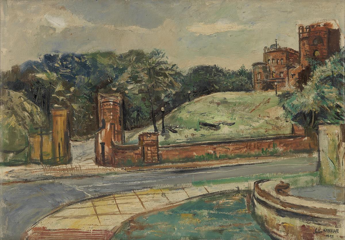 JOHN FARRAR (1928 - 1972) Untitled (Embassy Row).