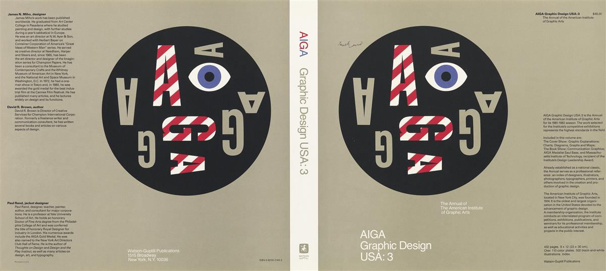 PAUL-RAND-(1914-1996)-AIGA-GRAPHIC-DESIGN-USA-3-Unused-dust-