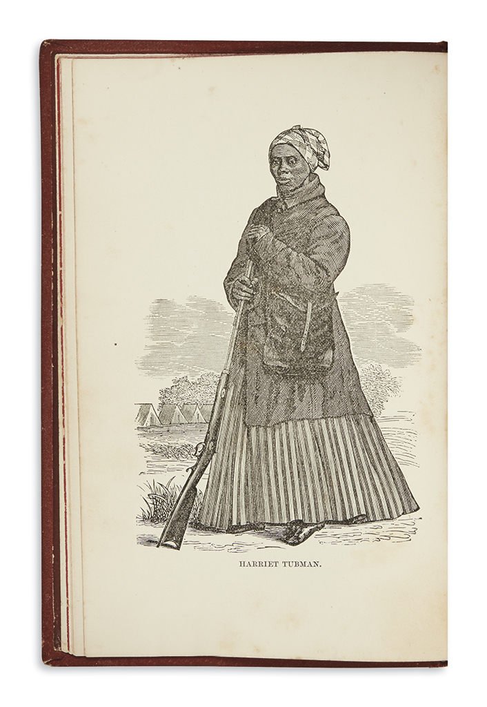 (SLAVERY AND ABOLITION.) Bradford, Sarah H. Scenes in the Life of Harriet Tubman.