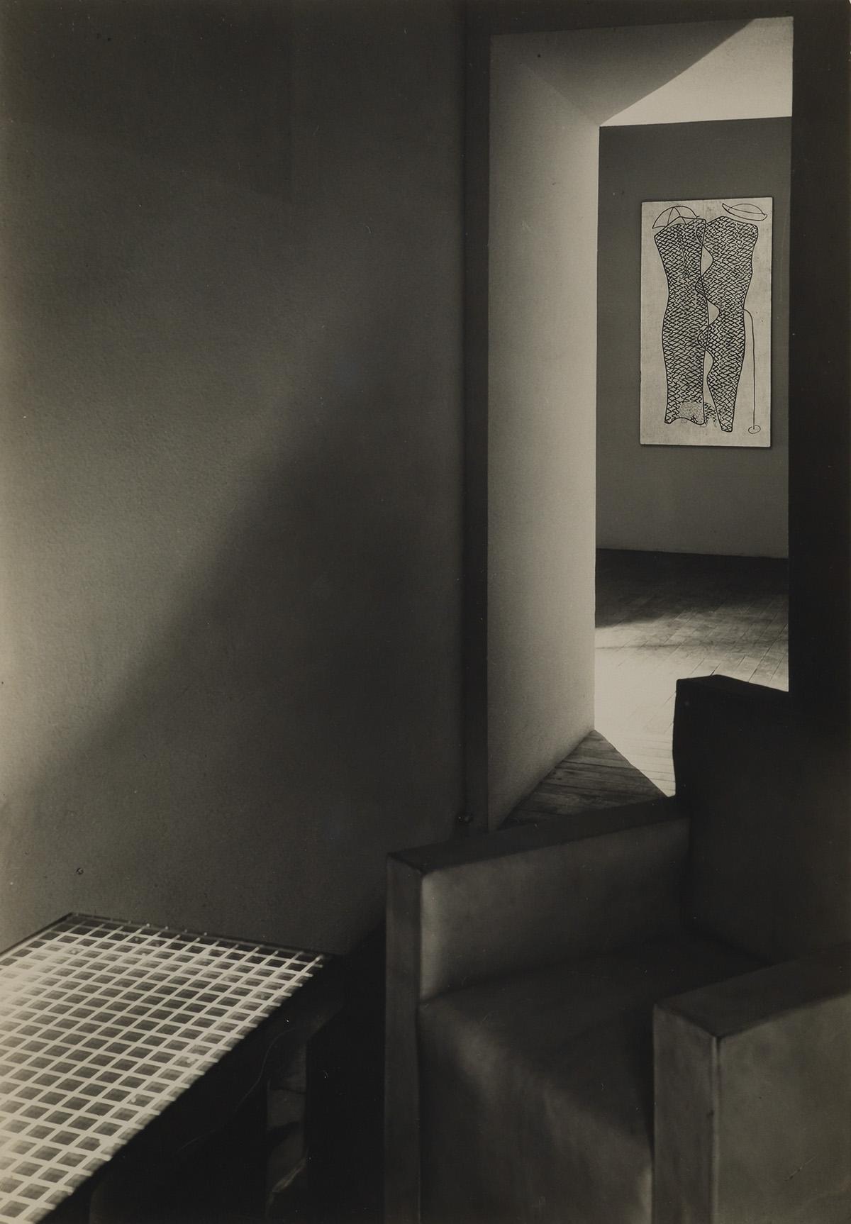 MAN-RAY-(1890-1976)-Study-of-an-interior