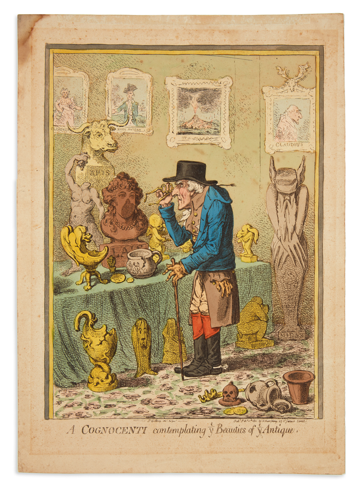 GILLRAY-JAMES-A-Cognocenti-Contemplating-ye-Beauties-of-ye-Antique