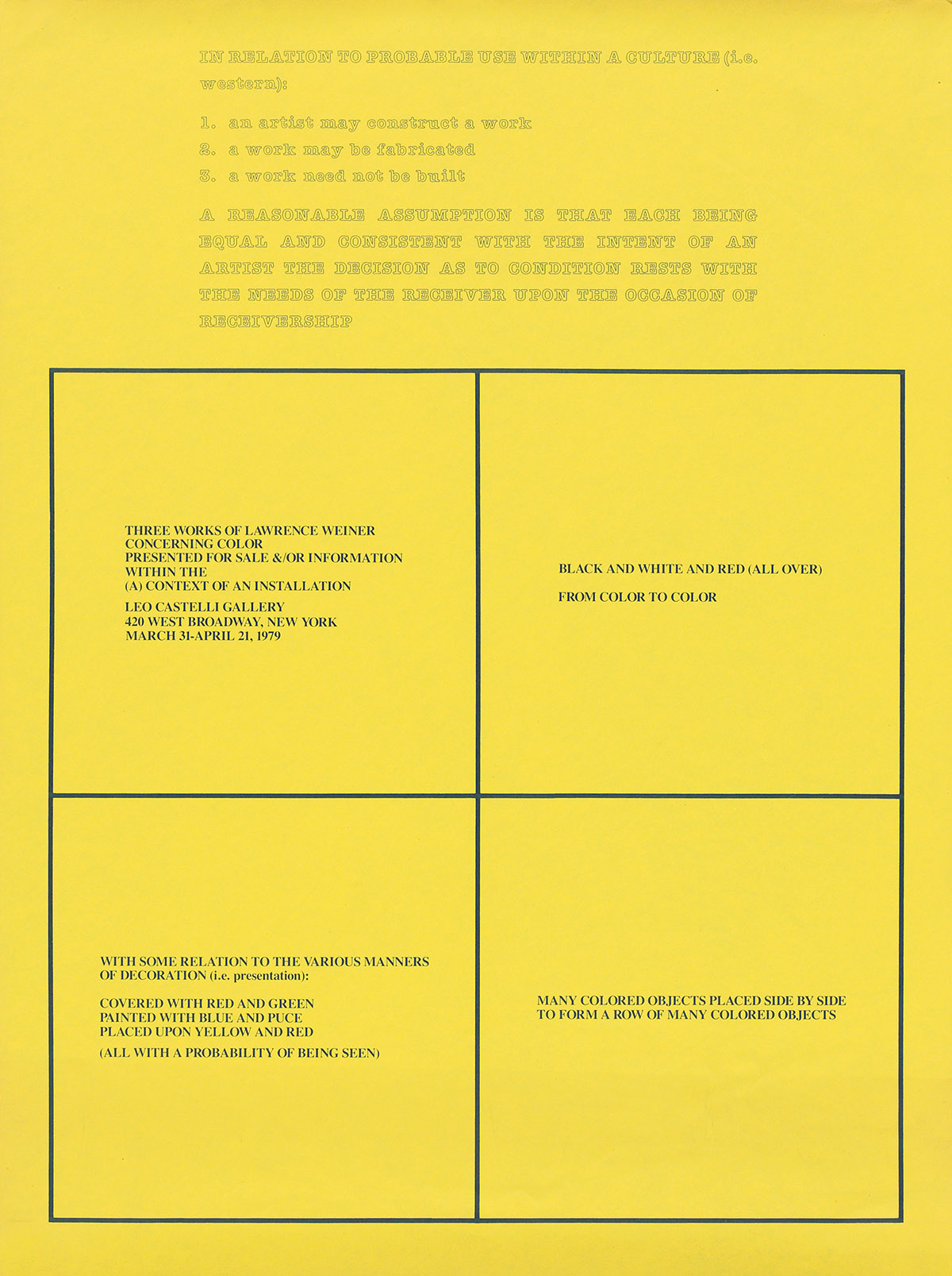 LAWRENCE-WEINER-(1942--)-IN-RELATION-TO-PROBABLE-USE-WITHIN-