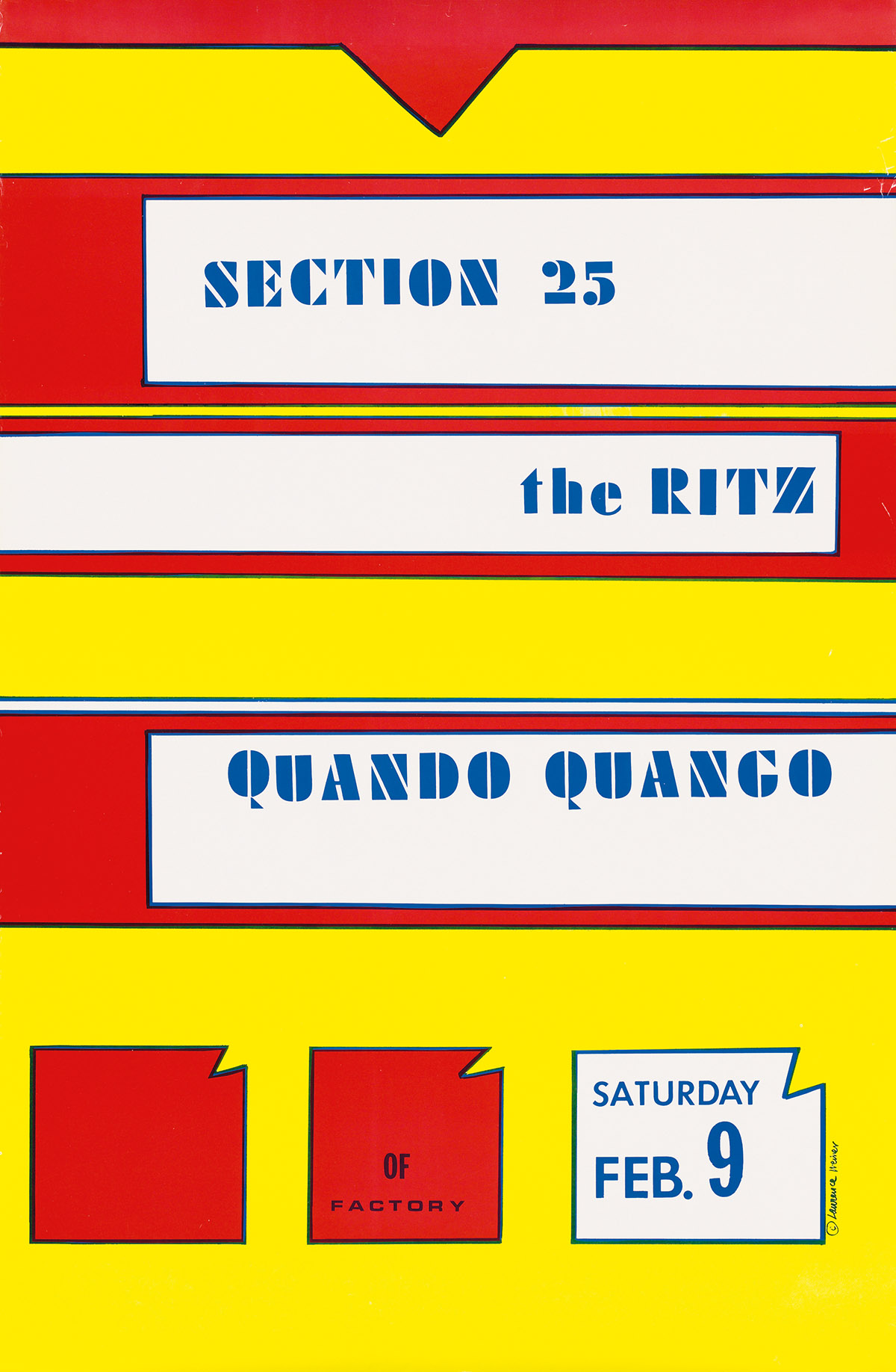 LAWRENCE-WEINER-(1942--)-SECTION-25--THE-RITZ--QUANDO-QUANGO
