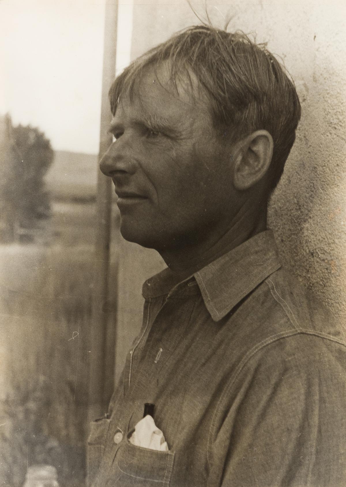 CARL VAN VECHTEN (1880-1964) Christopher Isherwood, New Mexico.