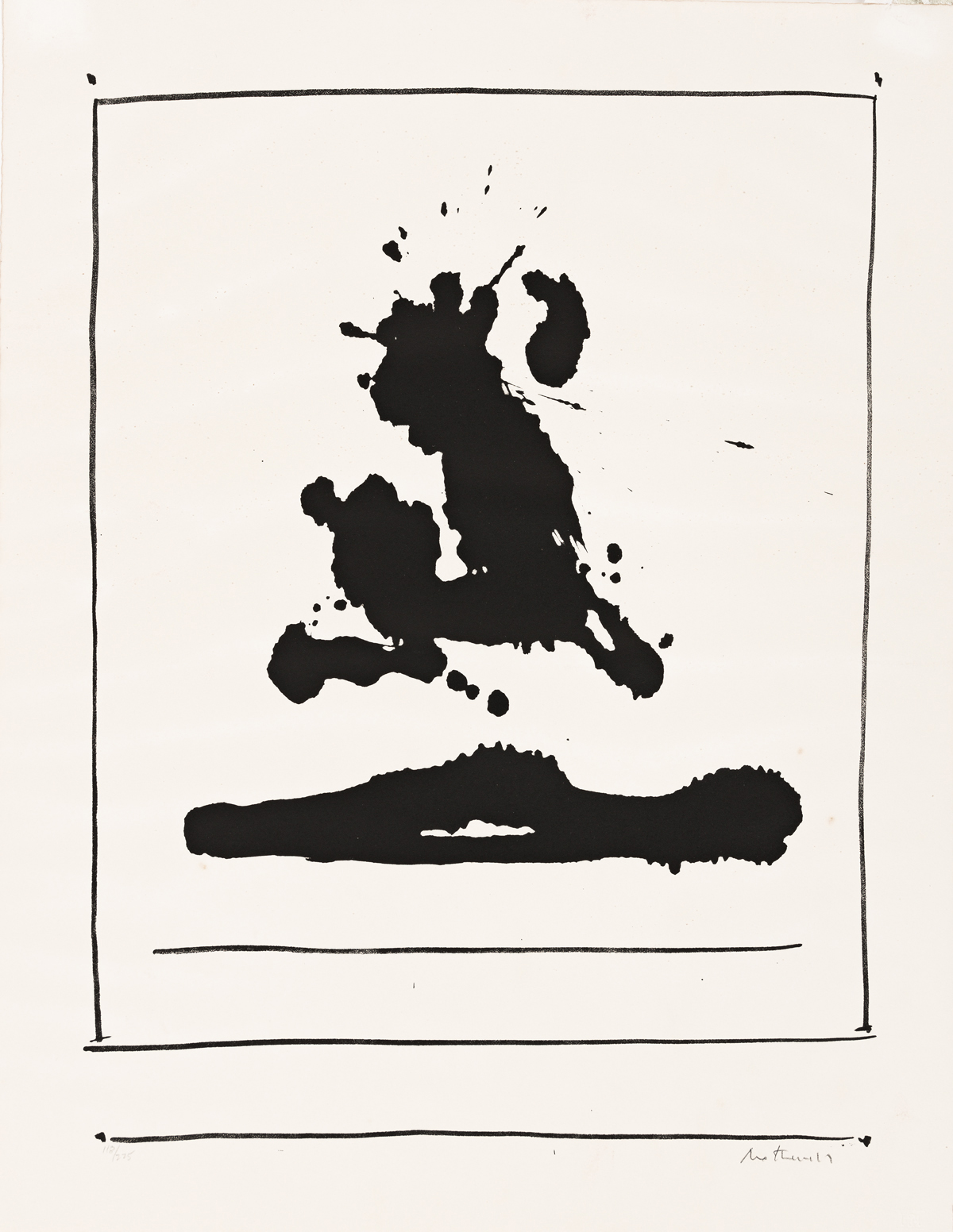 ROBERT MOTHERWELL Untitled.