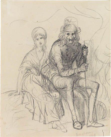 GEORGE-CALEB-BINGHAM-Two-Seated-Figures