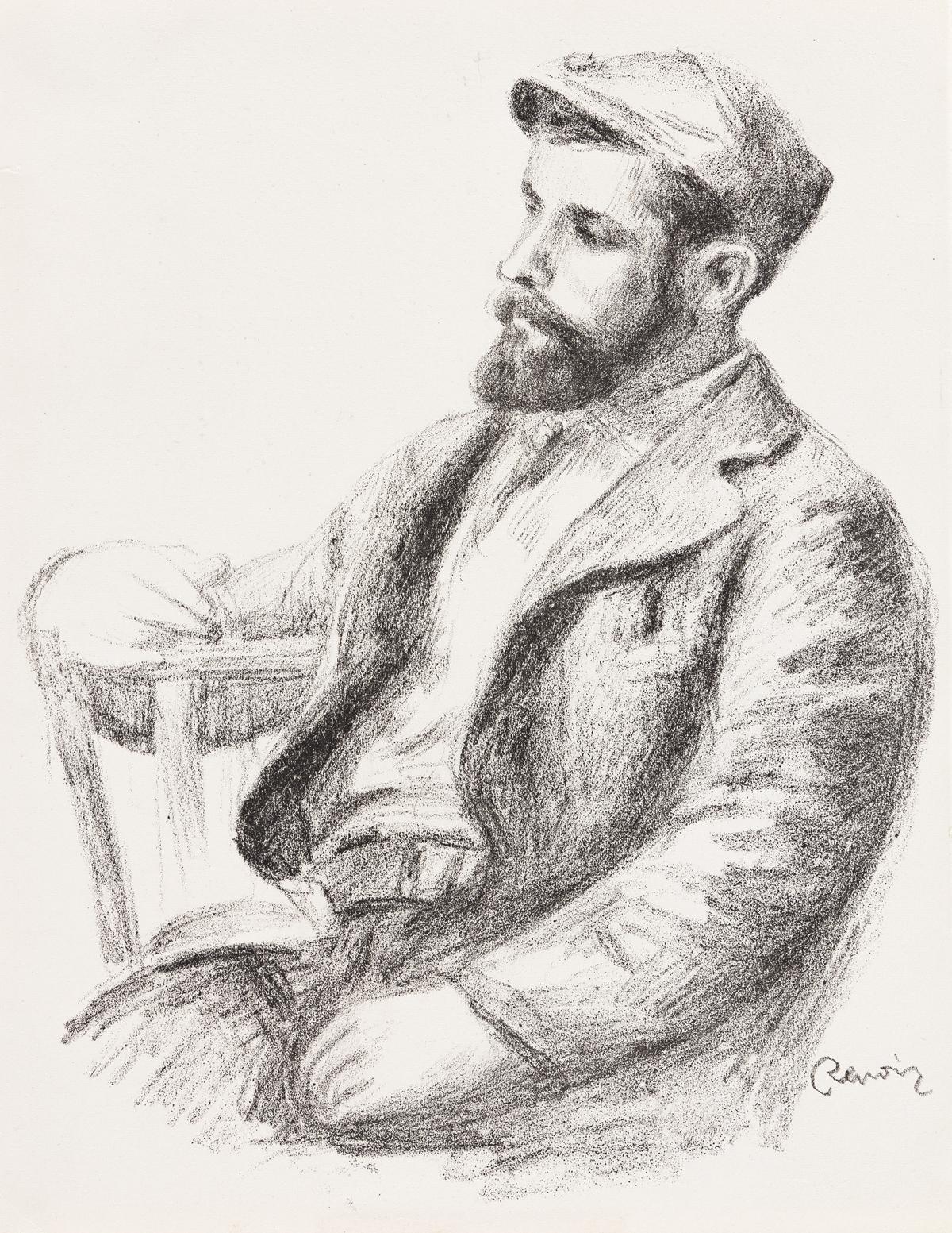 PIERRE-AUGUSTE RENOIR Louis Valtat.