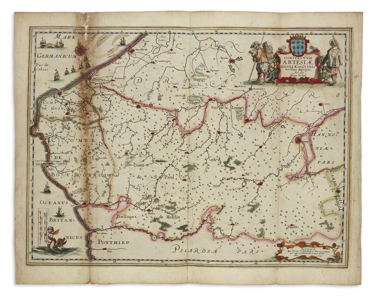 VERBIEST-PIETER-Comitatuum-Artesiae-Boloniae-et-Guines-Novis