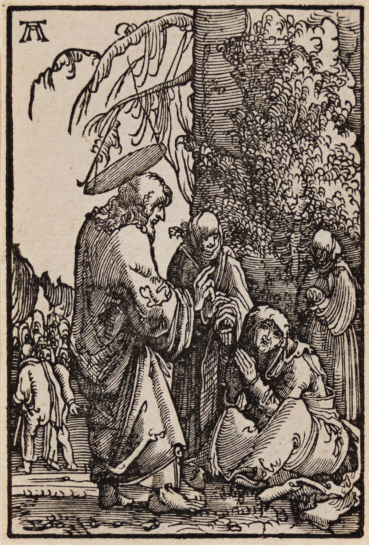 ALBRECHT ALTDORFER Christ Taking Leave of his Mother.
