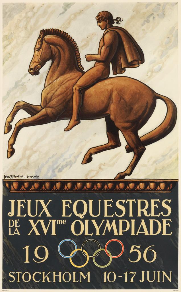 JOHN-SJÖSVÄRD-(1890-1958)-JEUX-EQUESTRES--DE-LA-XVIME-OLYMPI