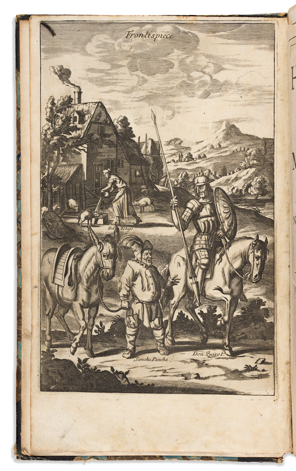 Cervantes Saavedra, Miguel de (1547-1616) The History of the Most Renowned Don Quixote of Mancha: and his Trusty Squire Sancho Pancha.