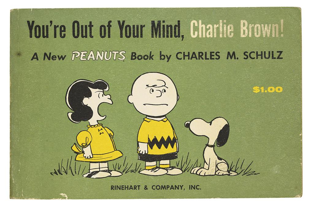 (CHILDRENS-LITERATURE)-Schulz-Charles-Youre-Out-of-Your-Mind