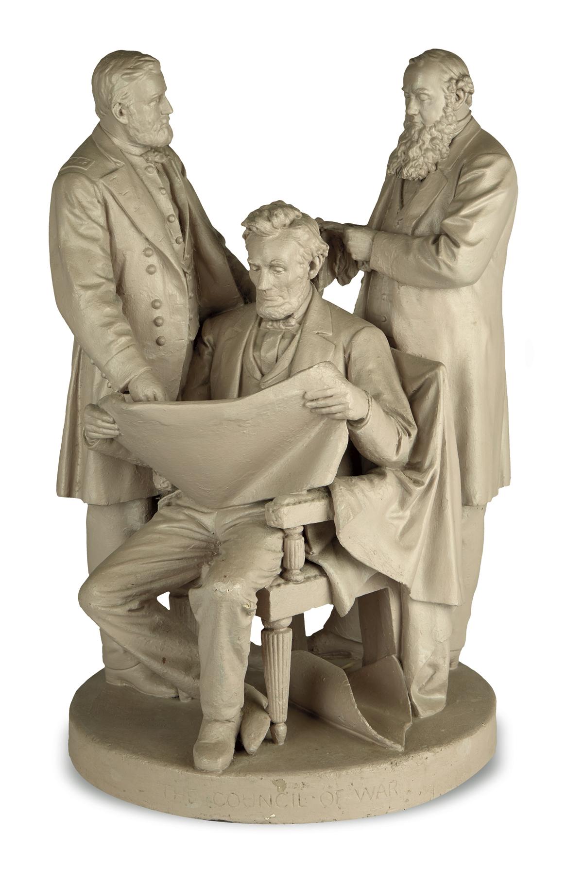 (SCULPTURE.) [Rogers, John; sculptor.] The Council of War.