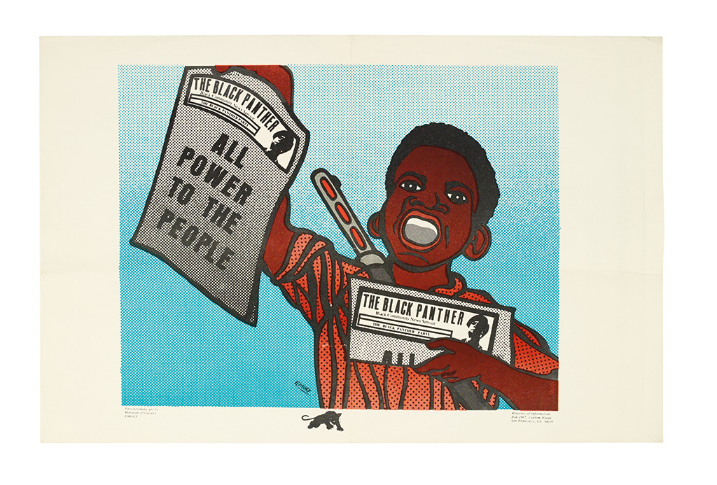 (BLACK PANTHERS.) [EMORY DOUGLAS]. All Power to the People.