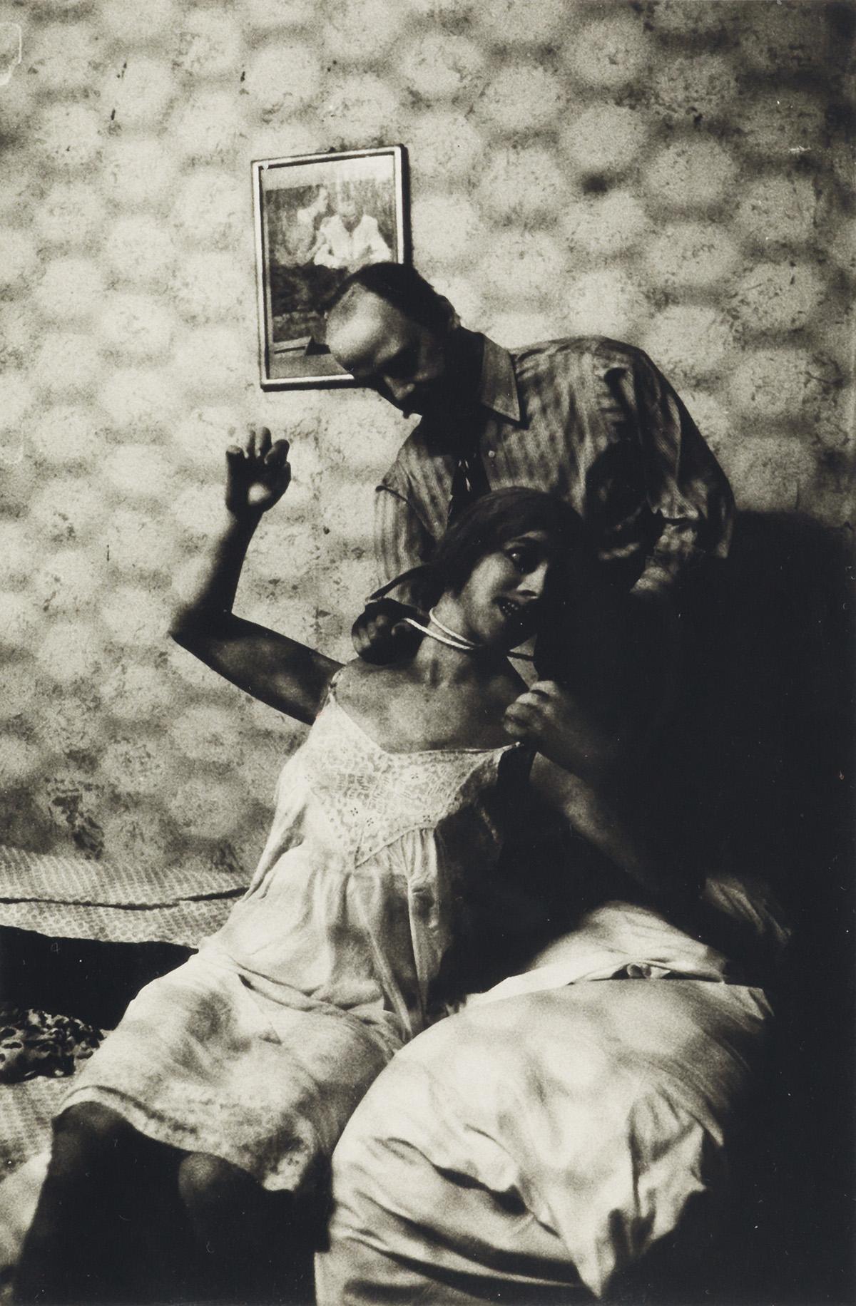 DIANE ARBUS (1923-1971)/NEIL SELKIRK (1947- ) Wax Museum Strangler, Coney Island, N.Y.