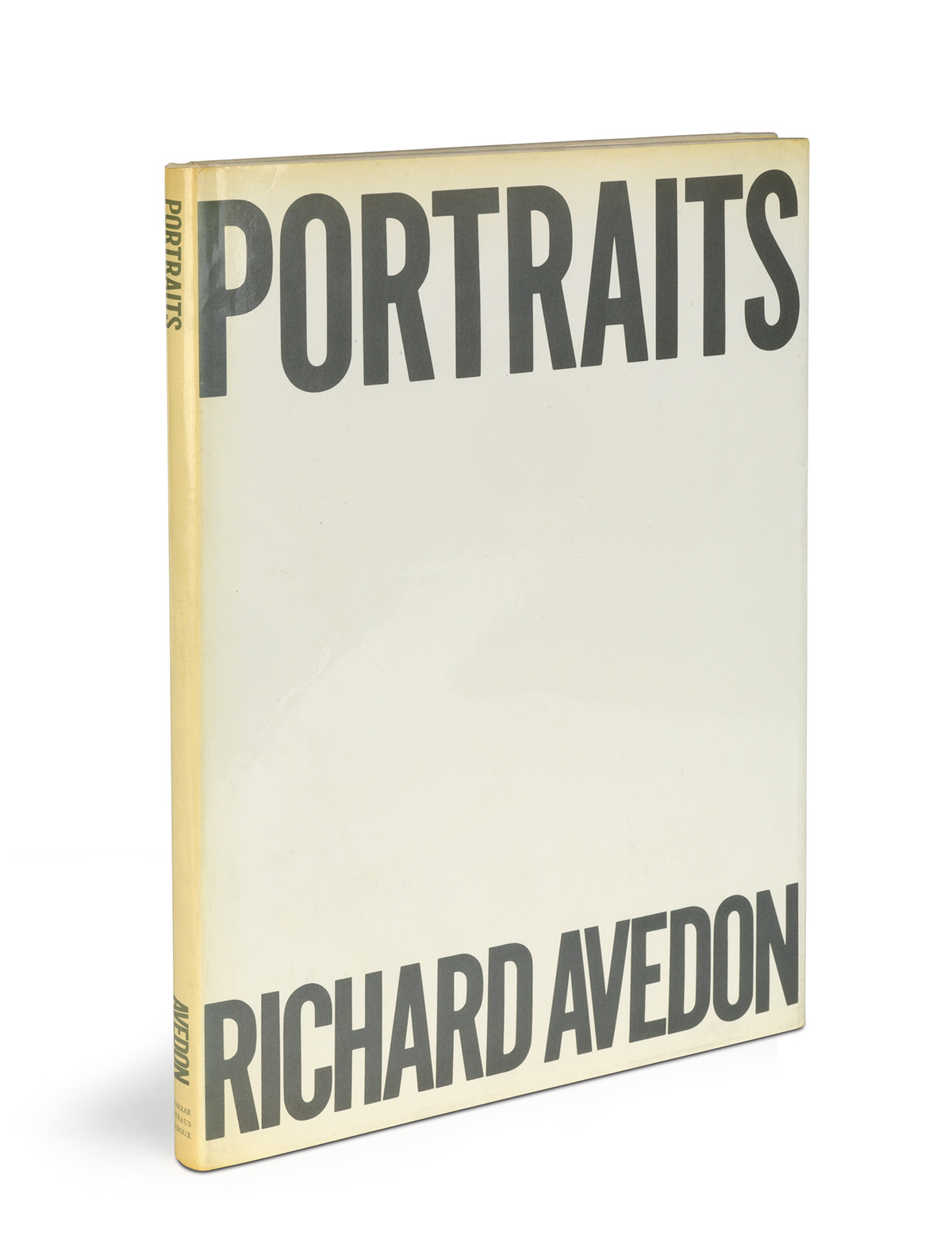 RICHARD AVEDON. Avedon: Photographs 1947-1977 * Portraits.