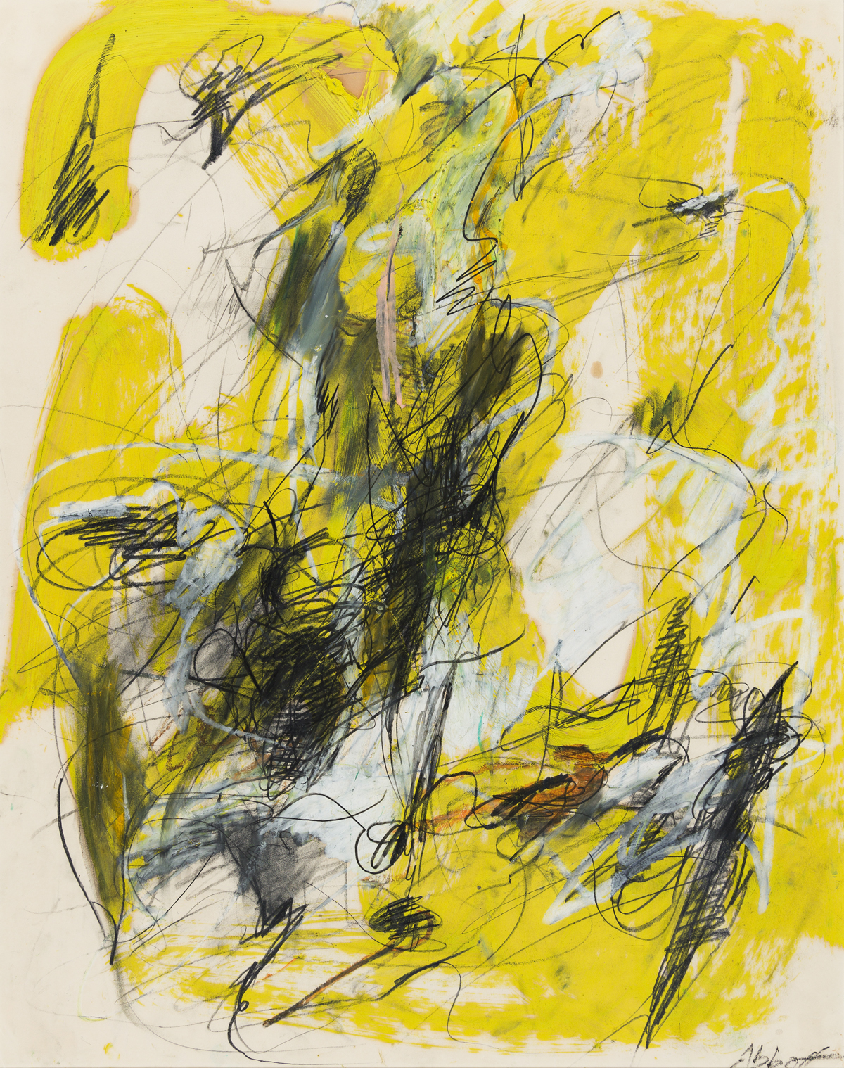MARY ABBOTT (1921 - 2019, AMERICAN) Untitled.