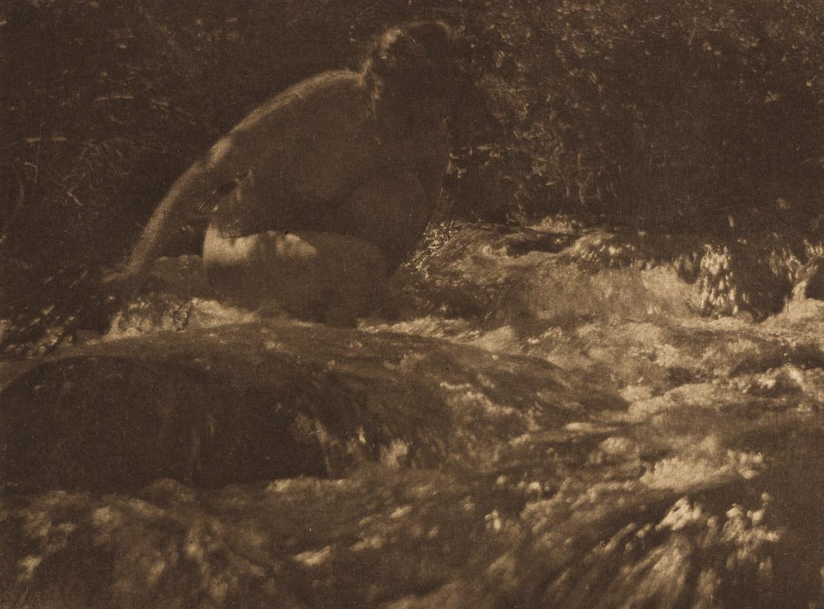 ANNE BRIGMAN (1869-1950) The Brook * Dawn * The Pool * Dryads (2).