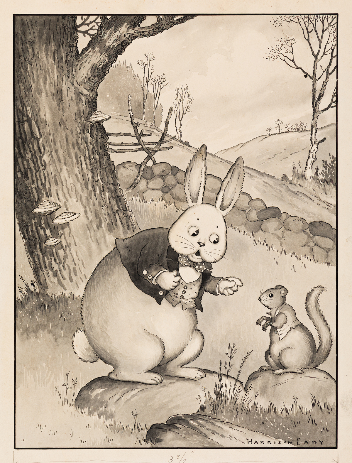 HARRISON CADY (1877-1970) `Have you found a new home yet? asked Peter. [CHILDRENS]