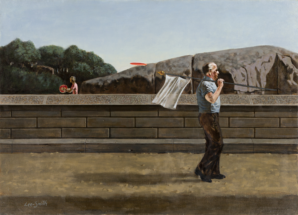 HUGHIE LEE-SMITH (1915 - 1999) Man with White Flag.