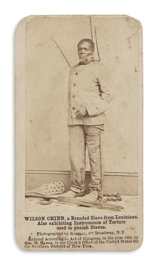 (SLAVERY-AND-ABOLITION)-Kimball-Myron-H;-photographer-Wilson