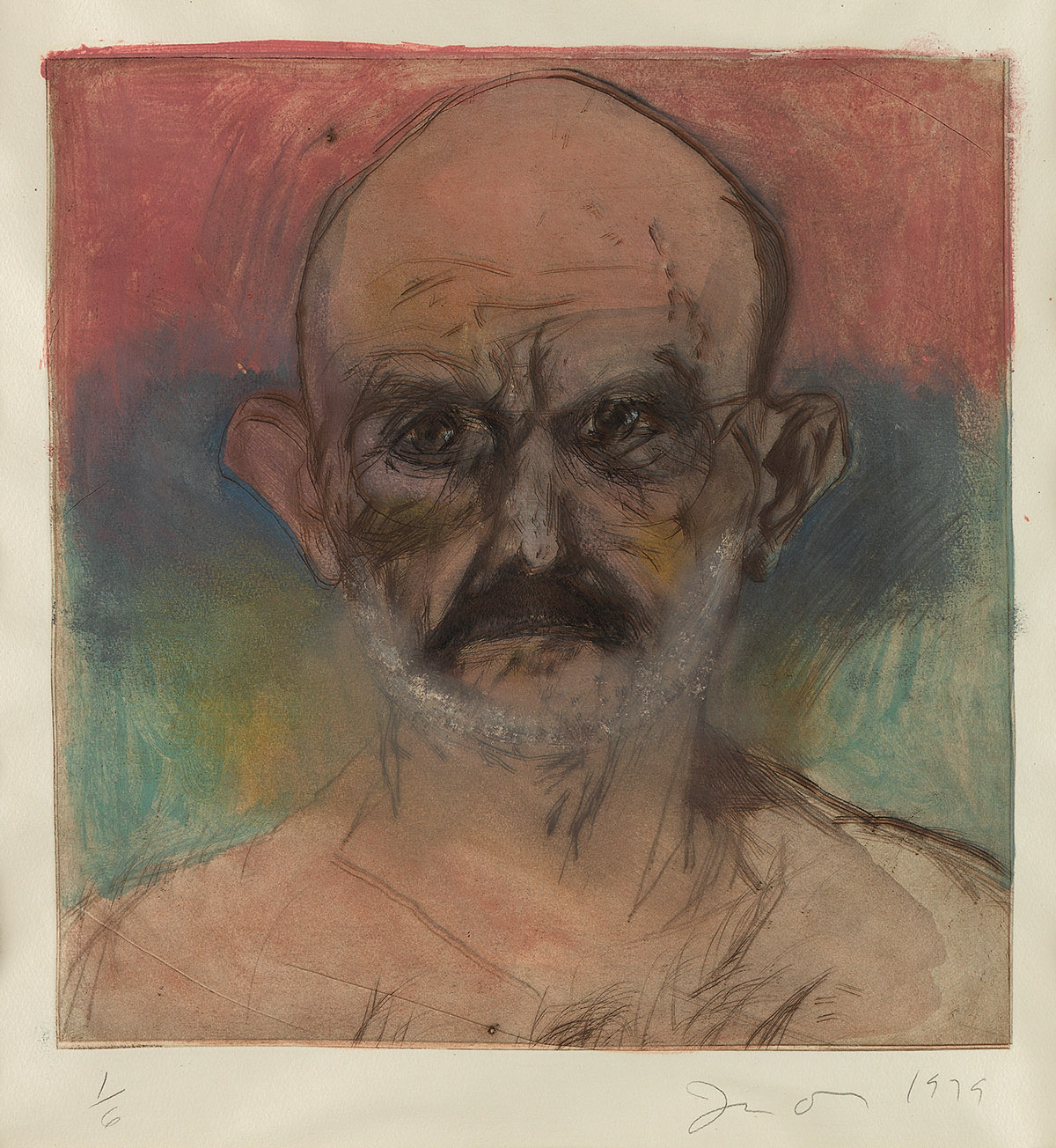 JIM-DINE-The-Hand-Painted-Portrait-on-Thin-Fabriano
