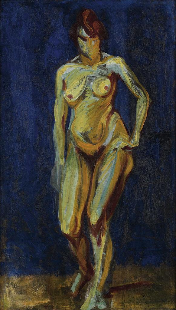 ALFRED-MAURER-Fauve-Nude