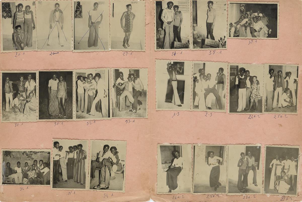 MALICK SIDIBÉ (1936-2016) Nuit du 25-10-74 (with 22 photographs).
