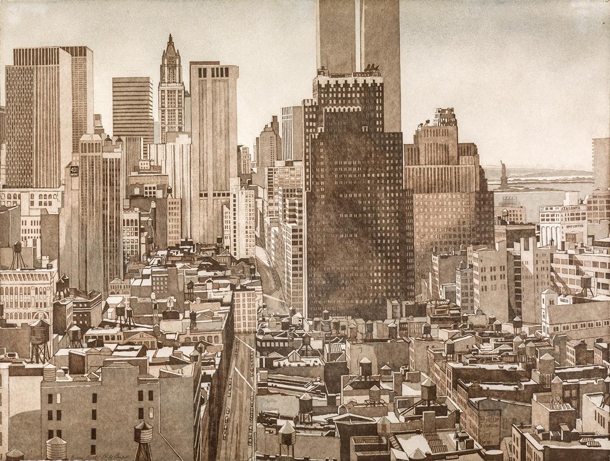 PHILIP-PEARLSTEIN-View-Over-SoHo-Lower-Manhattan