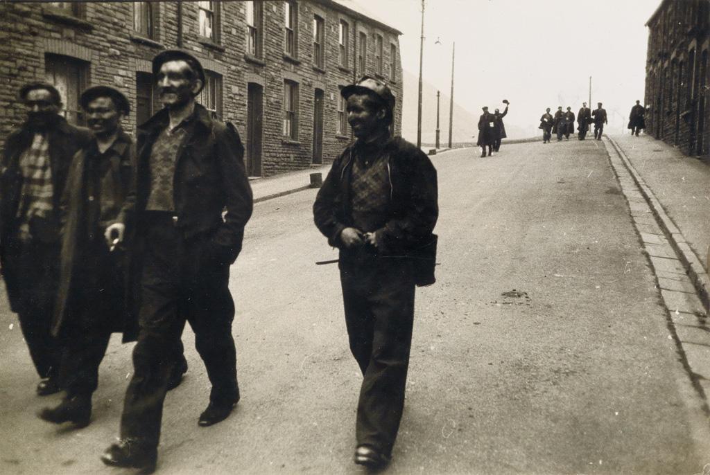 ROBERT FRANK (1924- ) Welsh miners.