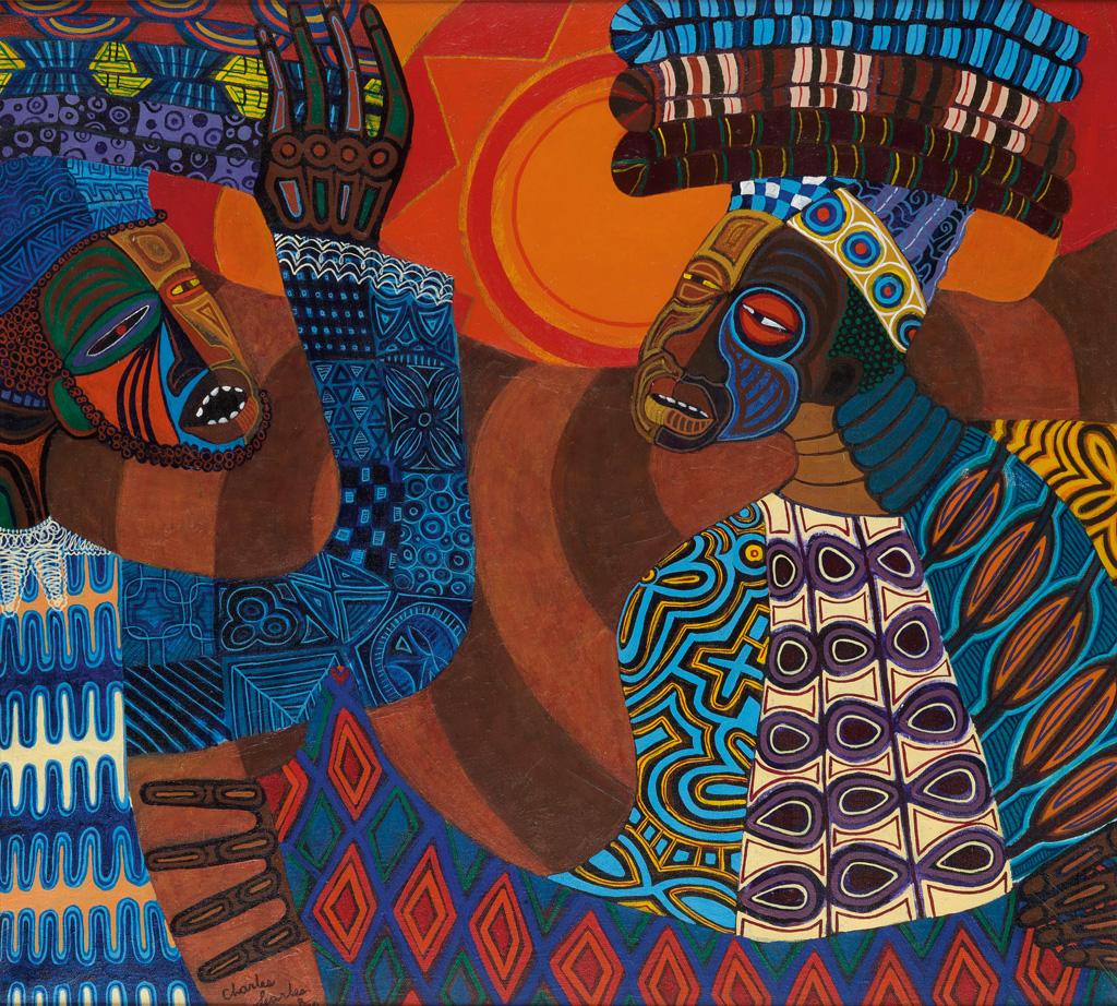 CHARLES SEARLES (1937 - 2004) Untitled (Two Dancers).